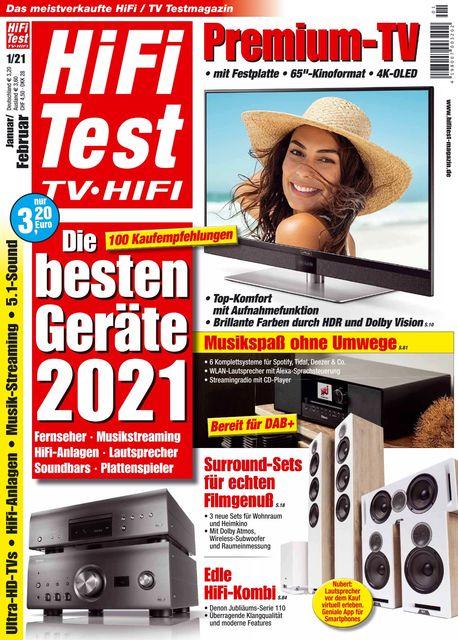 HiFi Test TV • HiFi Ausgabe 01/2021