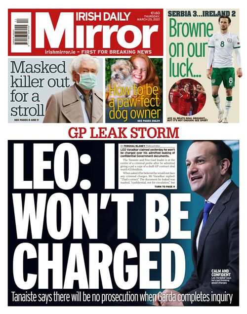 Irish Daily Mirror 2021-03-25