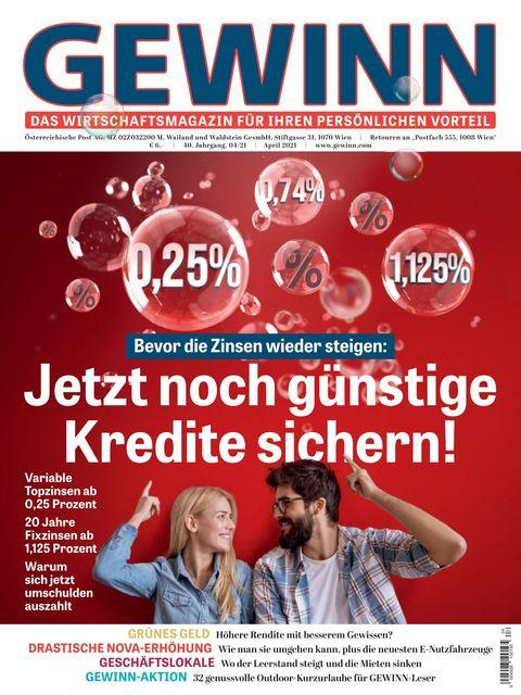 GEWINN Ausgabe 04/2021
