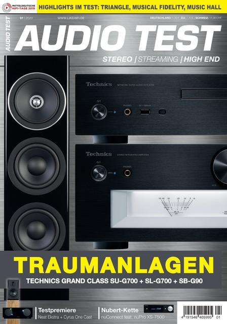 AUDIO TEST Ausgabe 01/2020