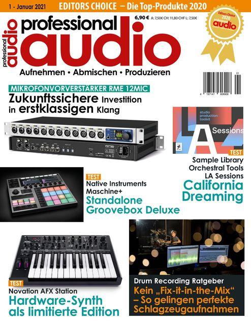 Professional audio Ausgabe 01/2021