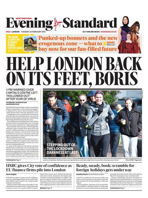 Evening Standard 2021-02-23