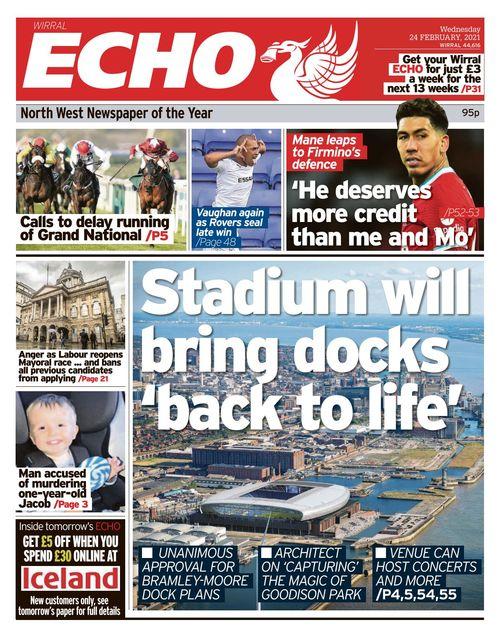 Liverpool Echo 2021-02-24