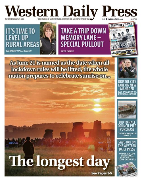 Western Daily Press 2021-02-23