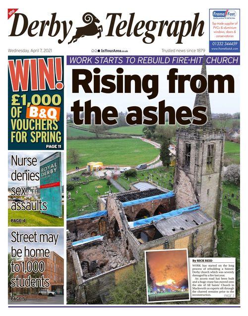 Derby Telegraph 2021-04-07