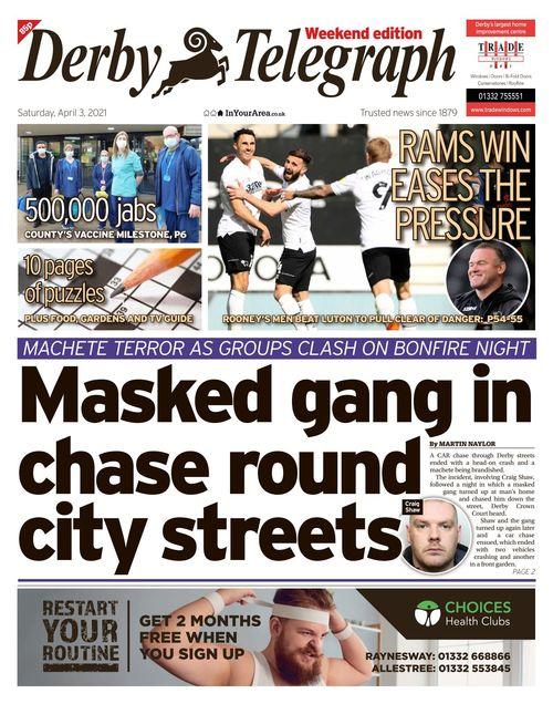 Derby Telegraph 2021-04-03