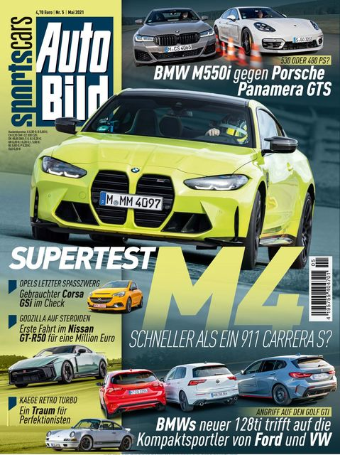 AUTO BILD Sportscars Ausgabe 05/2021