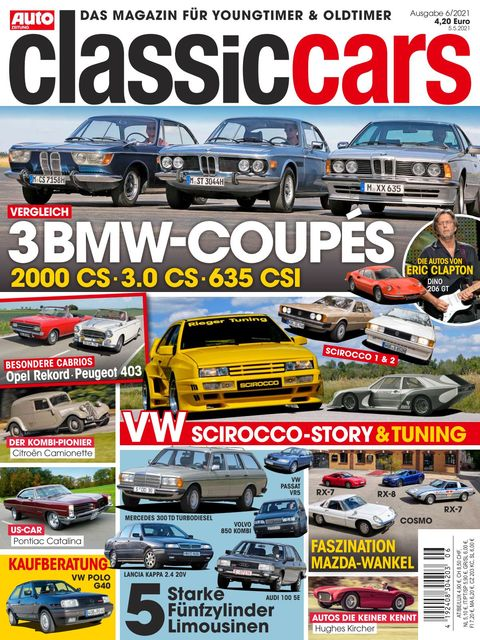 AUTO ZEITUNG classic cars Ausgabe 6/2021