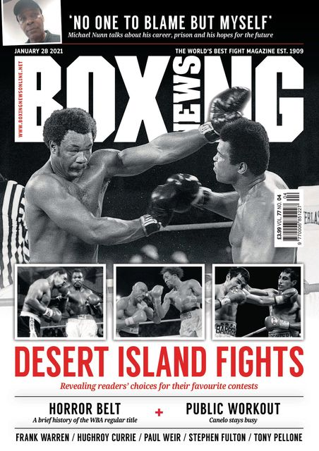 Boxing News 2021-01-28