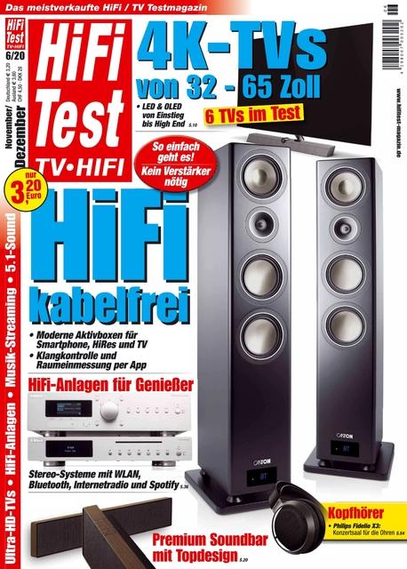 HiFi Test TV • HiFi Ausgabe 06/2020
