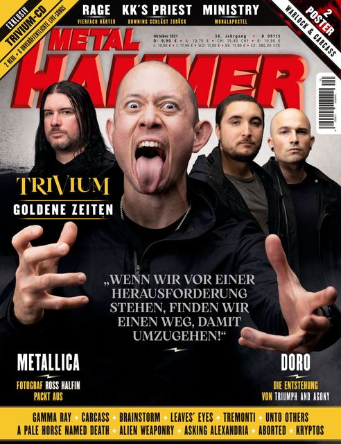 METAL HAMMER Deutschland Ausgabe 10/2021