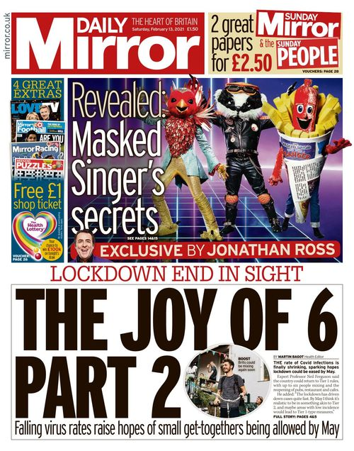 Daily Mirror 2021-02-13