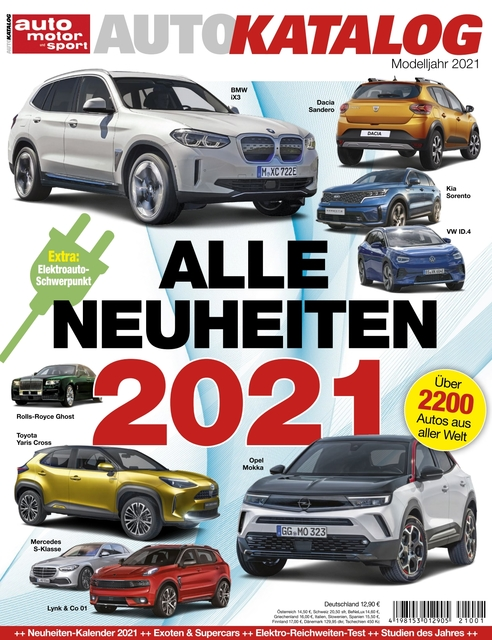 Auto Motor und Sport AUTOKATALOG Ausgabe 2021