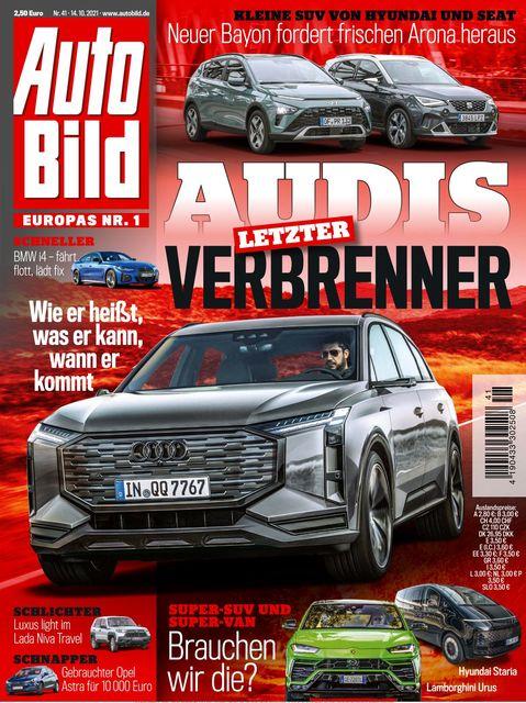 AUTO BILD 2021-10-14