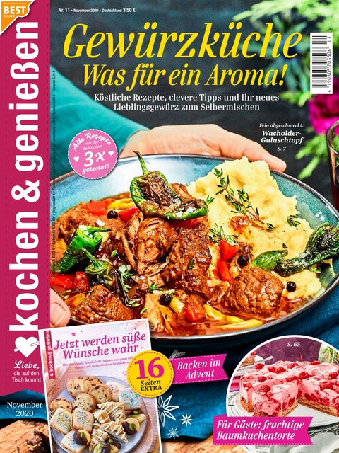 Kochen und Genießen Ausgabe 11/2020