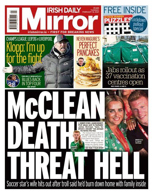 Irish Daily Mirror 2021-02-16
