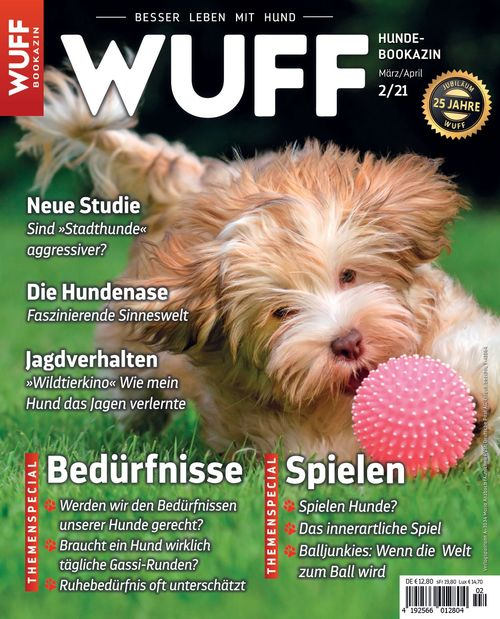 Hundemagazin WUFF Ausgabe 02/2021