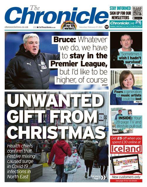 Newcastle Chronicle 2021-02-27