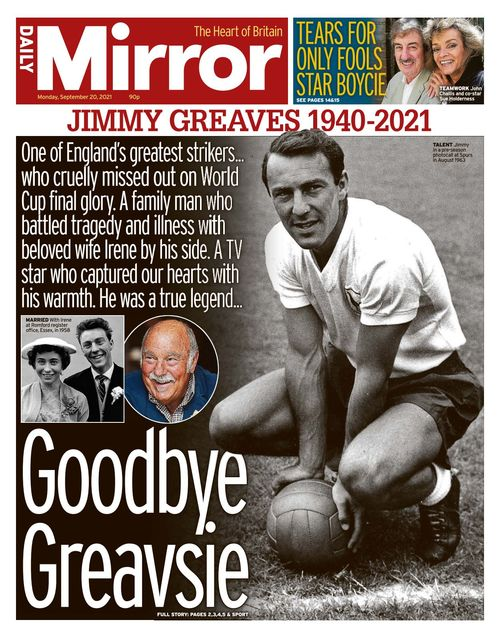 Daily Mirror 2021-09-20
