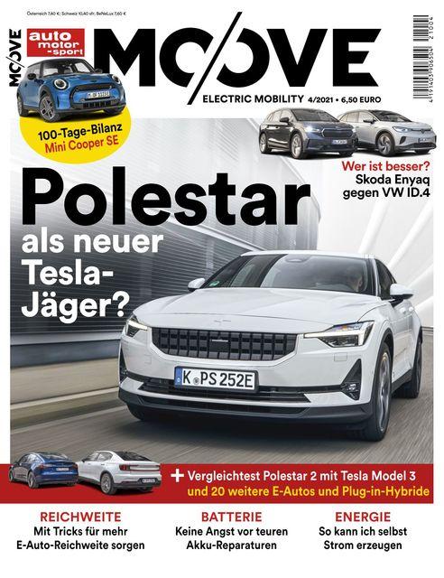 Auto Motor und Sport MOOVE Ausgabe 04/2021