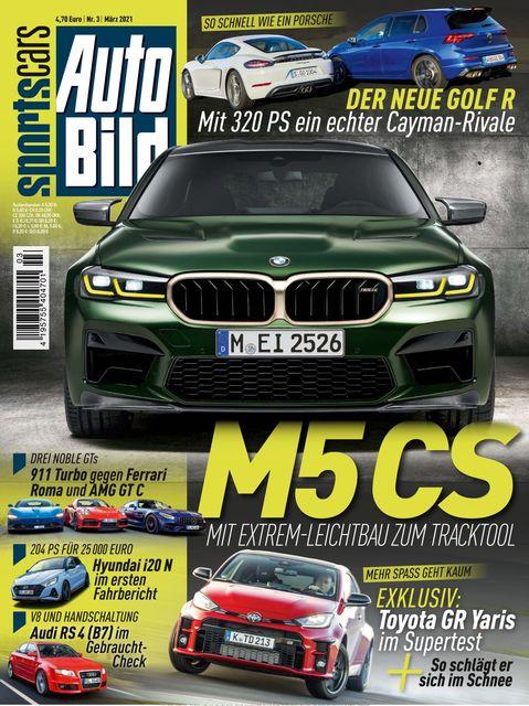 AUTO BILD Sportscars Ausgabe 03/2021