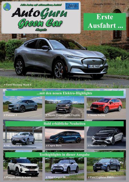 AutoGuru eMagazine Green Car Spezial 02/2021