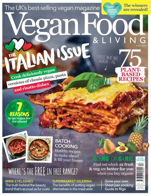 Vegan Food & Living issue 04/2021 - The Italian Issue