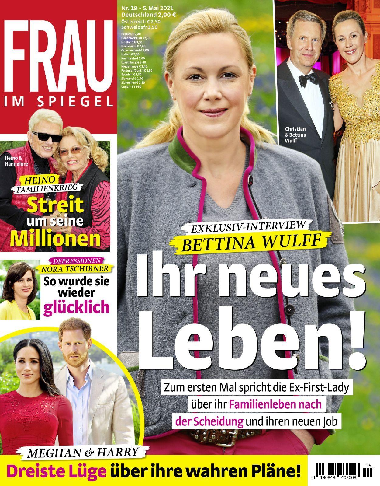 Frau Im Spiegel 2021 05 19