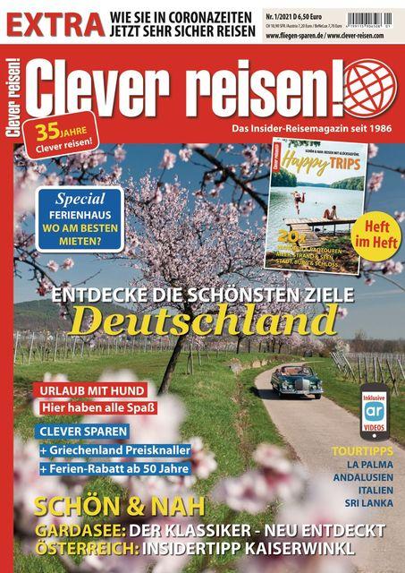 Clever reisen! Ausgabe 01/2021