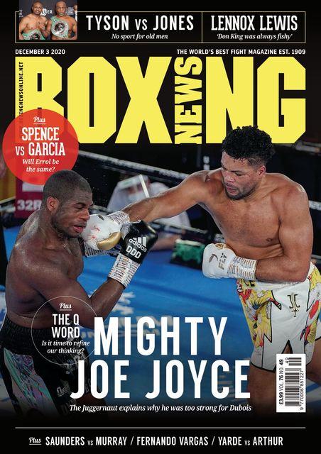 Boxing News 2020-12-03