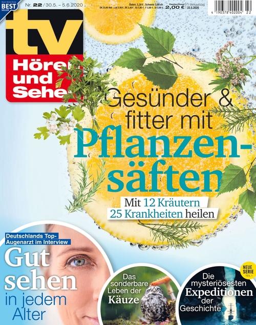 Tv Horen Und Sehen Ausgabe 22 2020