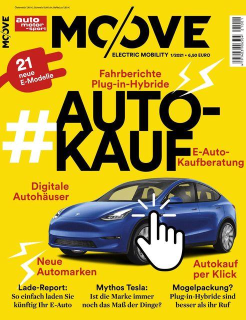 Auto Motor und Sport MOOVE Ausgabe 01/2021