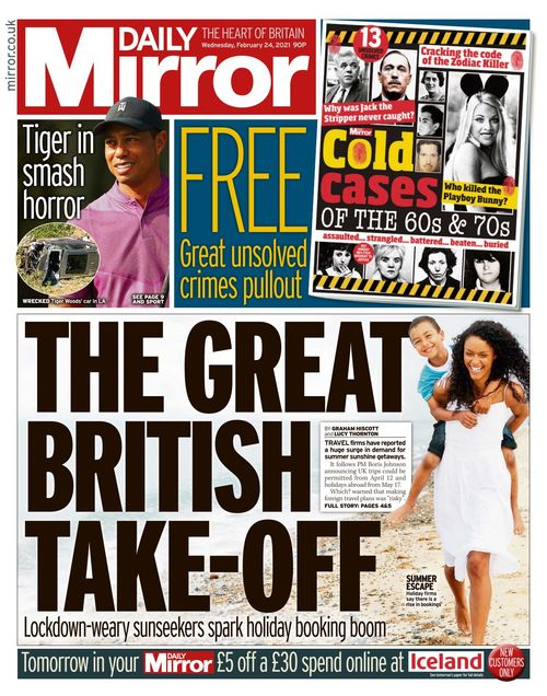 Daily Mirror 2021-02-24