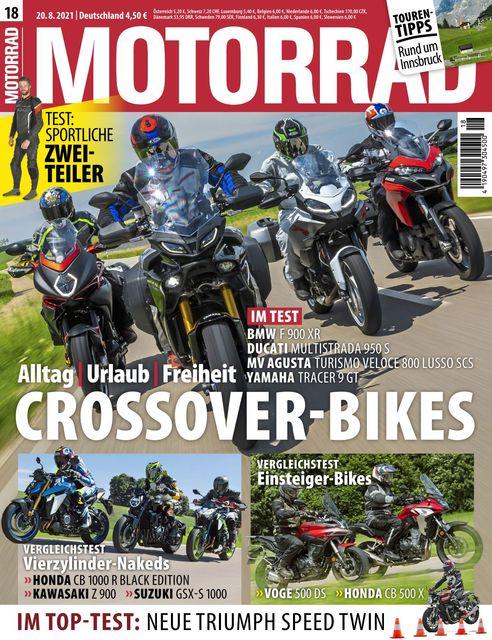 Motorrad Ausgabe 18/2021