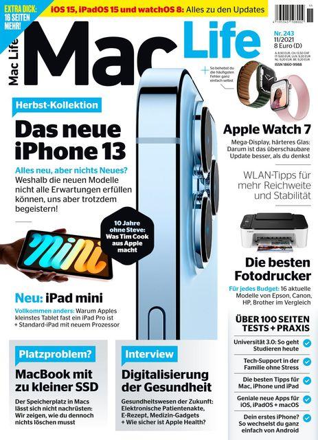 Mac Life Ausgabe 11/2021