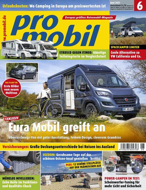 Promobil Ausgabe 06/2021