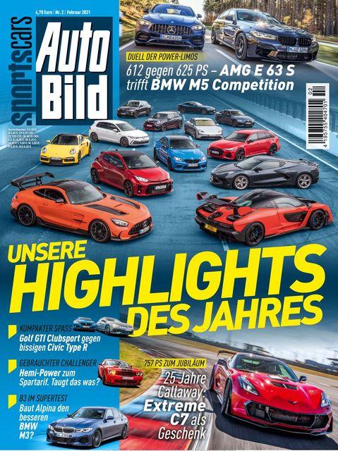 AUTO BILD Sportscars Ausgabe 02/2021