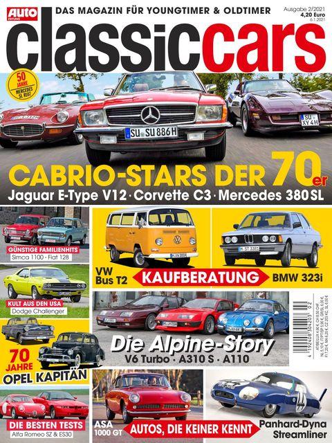 AUTO ZEITUNG classic cars Ausgabe 2/2021