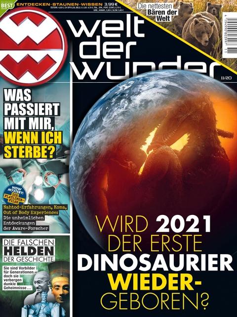 Welt der Wunder Ausgabe 11/2020
