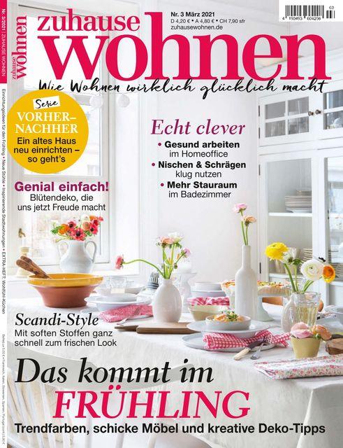 Zuhause Wohnen Ausgabe 03/2021