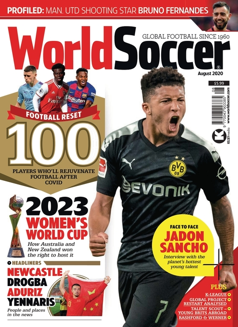 World Soccer issue 08/2020