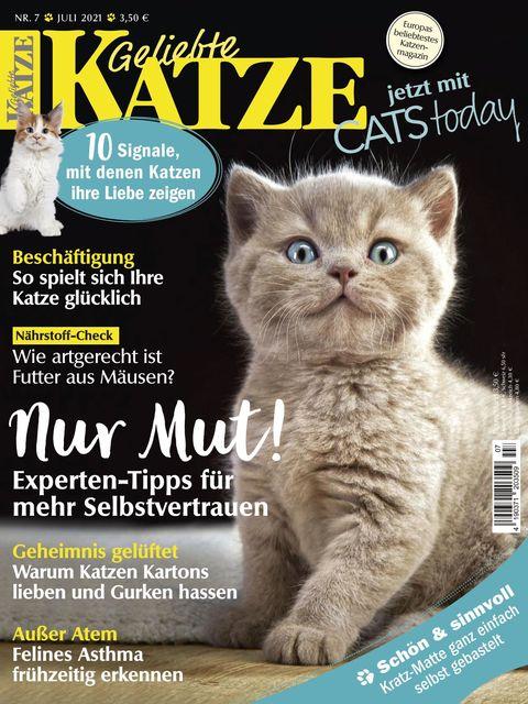 Geliebte Katze Ausgabe 07/2021