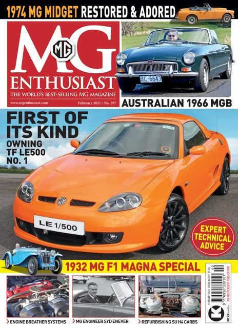 MG Enthusiast issue 02/2021