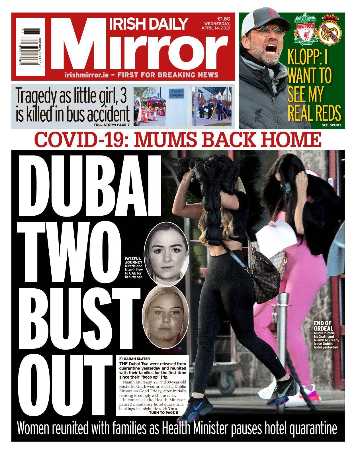 22 Irish Daily Mirror   10 10 10