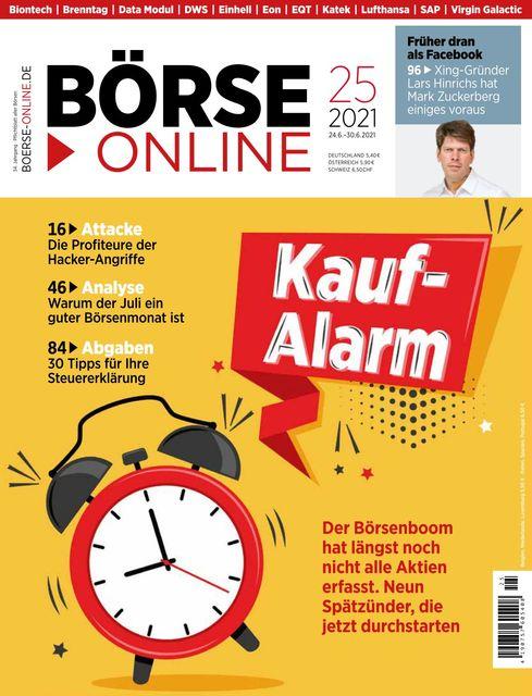 Börse Online Ausgabe 25/2021