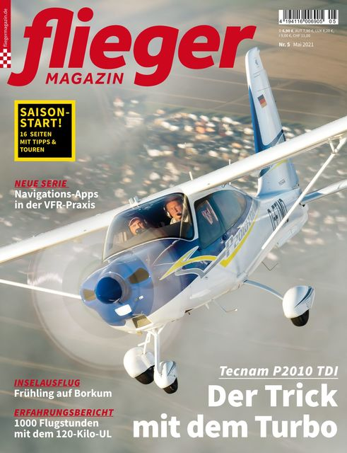 fliegermagazin Ausgabe 05/2021