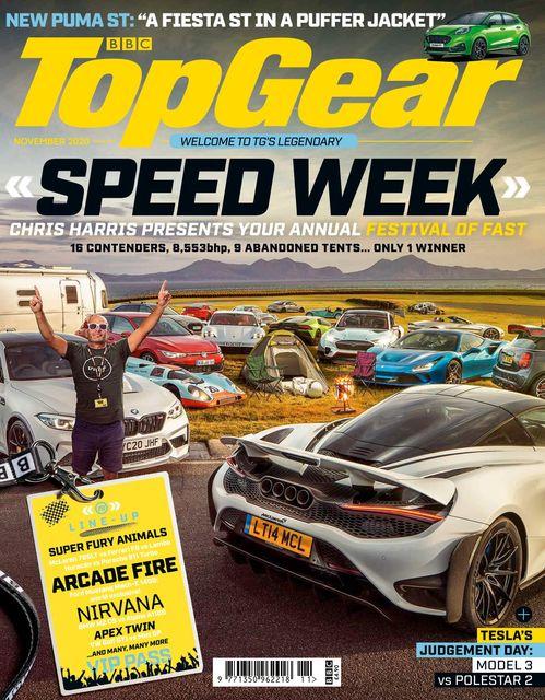 BBC Top Gear Magazine issue 11/2020