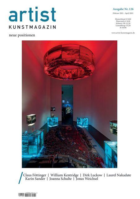 Artist Kunstmagazin 126