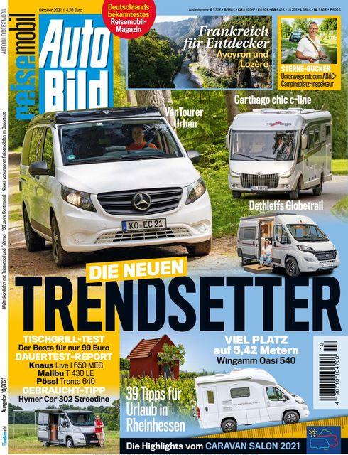 AUTO BILD Reisemobil Ausgabe 10/2021