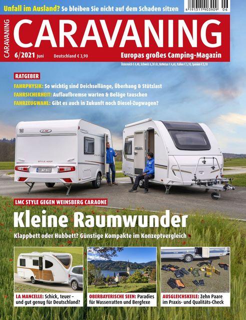 Caravaning Ausgabe 06/2021